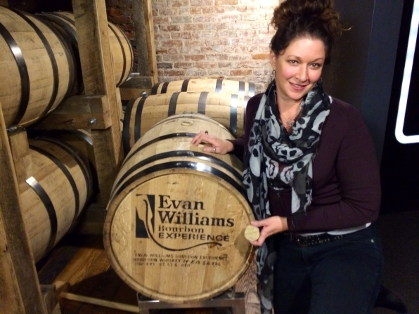Bunged myown barrel at Even Williams Experience
