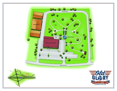Old Glory Distilling Co. Site Layout