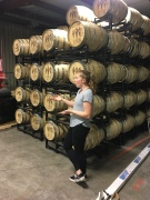 Barrel room at Corsair